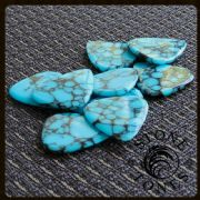 Stone Tones Blue Dragon Skin Guitar Picks | Timber Tones